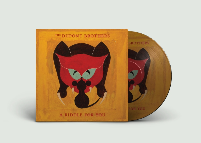 DuPont Brothers, A riddle for you vinyl record packaging design